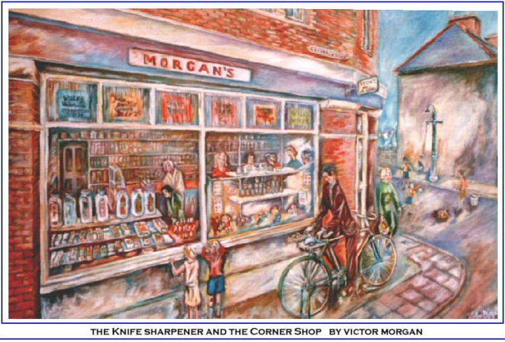 The Corner Shop and the Knife Sharpener